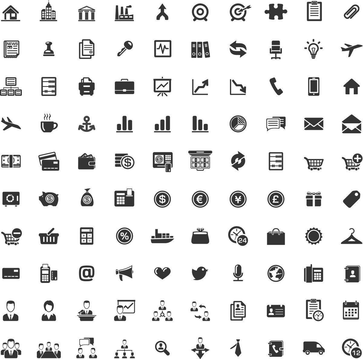 любимую наборы иконок и картинок пакетики