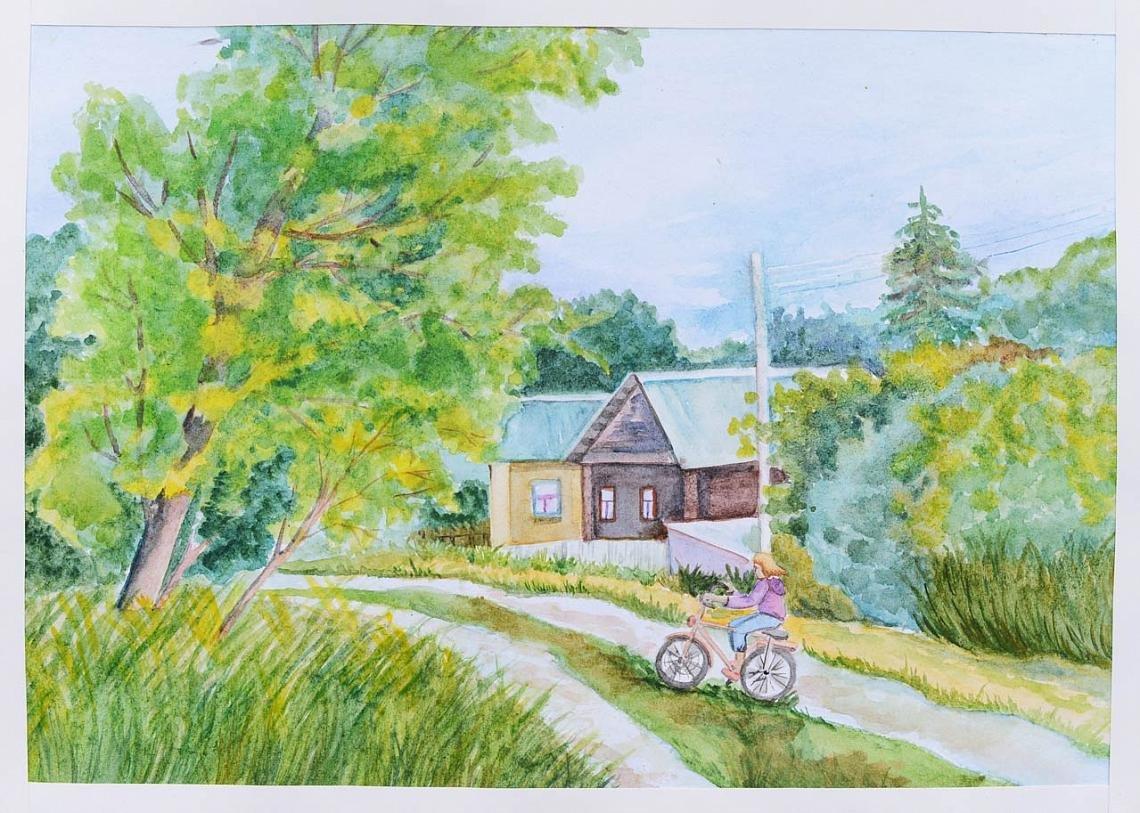 сейчас, картинки моя деревня мой край рассказывает юфи