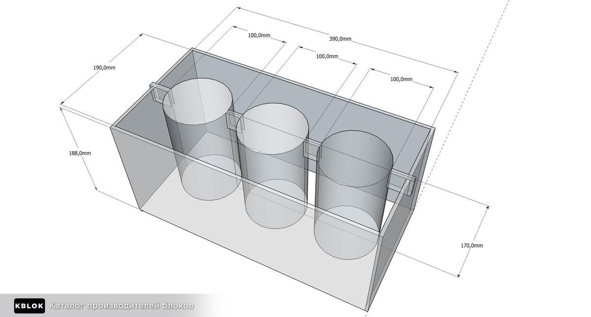 формы для производства шлакоблоков