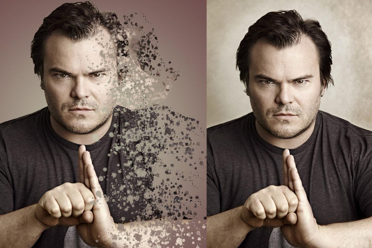 Эффект открытки в фотошопе