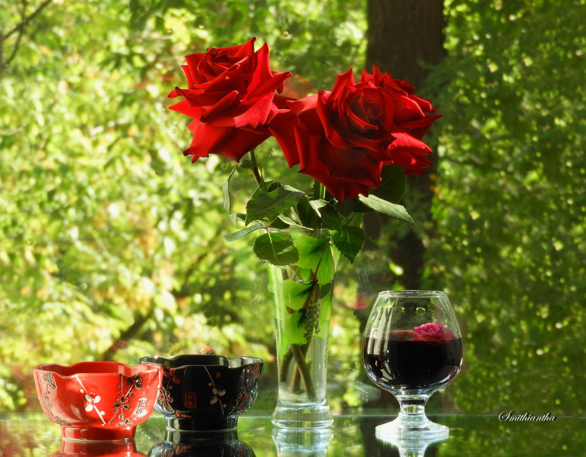 Любви осенннее вино