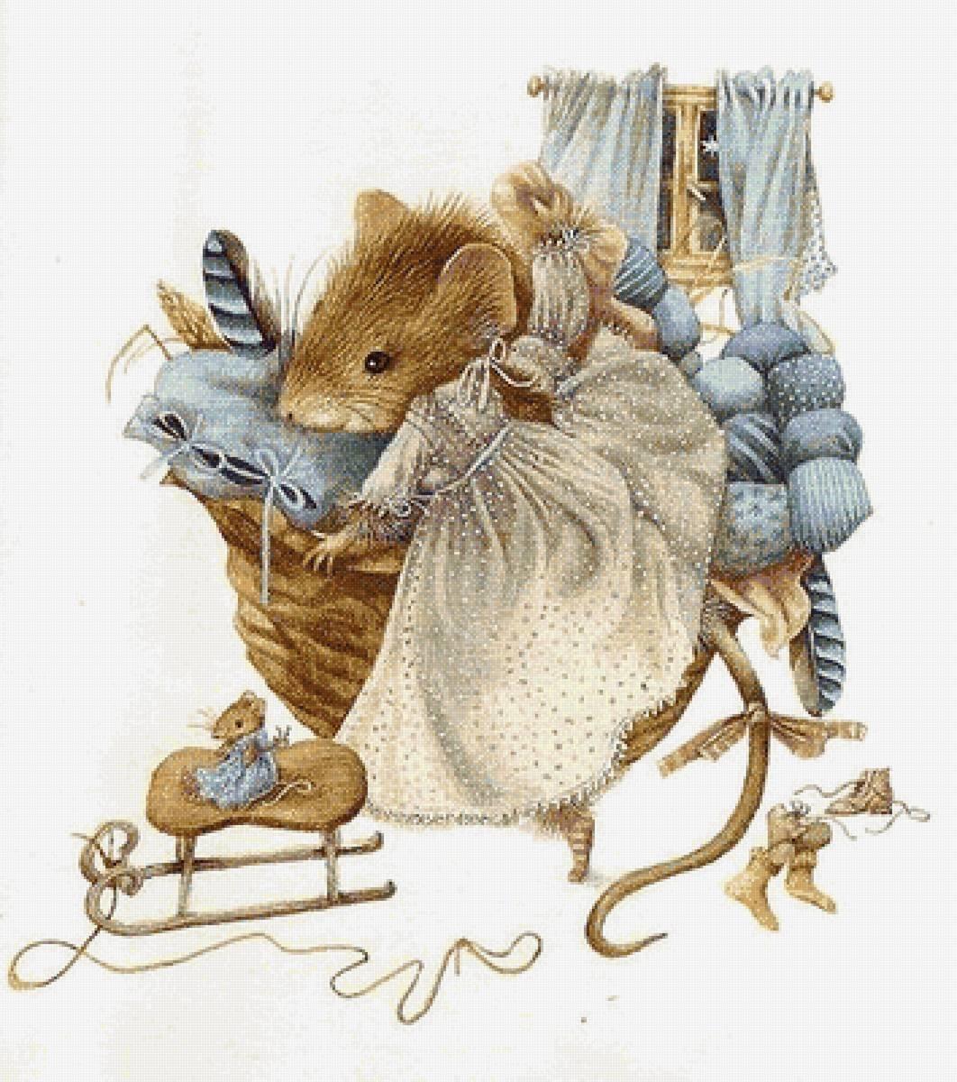 Мыши на открытках, открытка марта руками