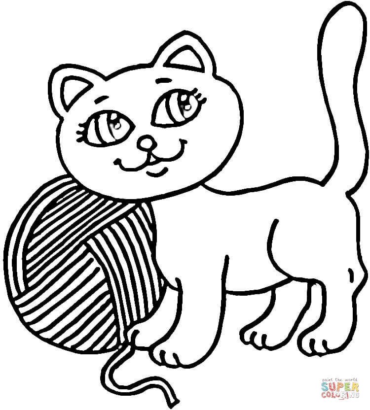 yarn coloring pages - HD 1150×863