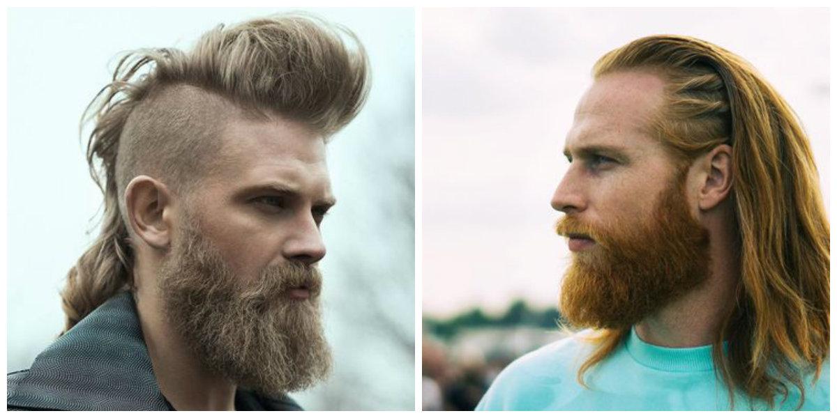 Cortes con cabello largo hombres 2019