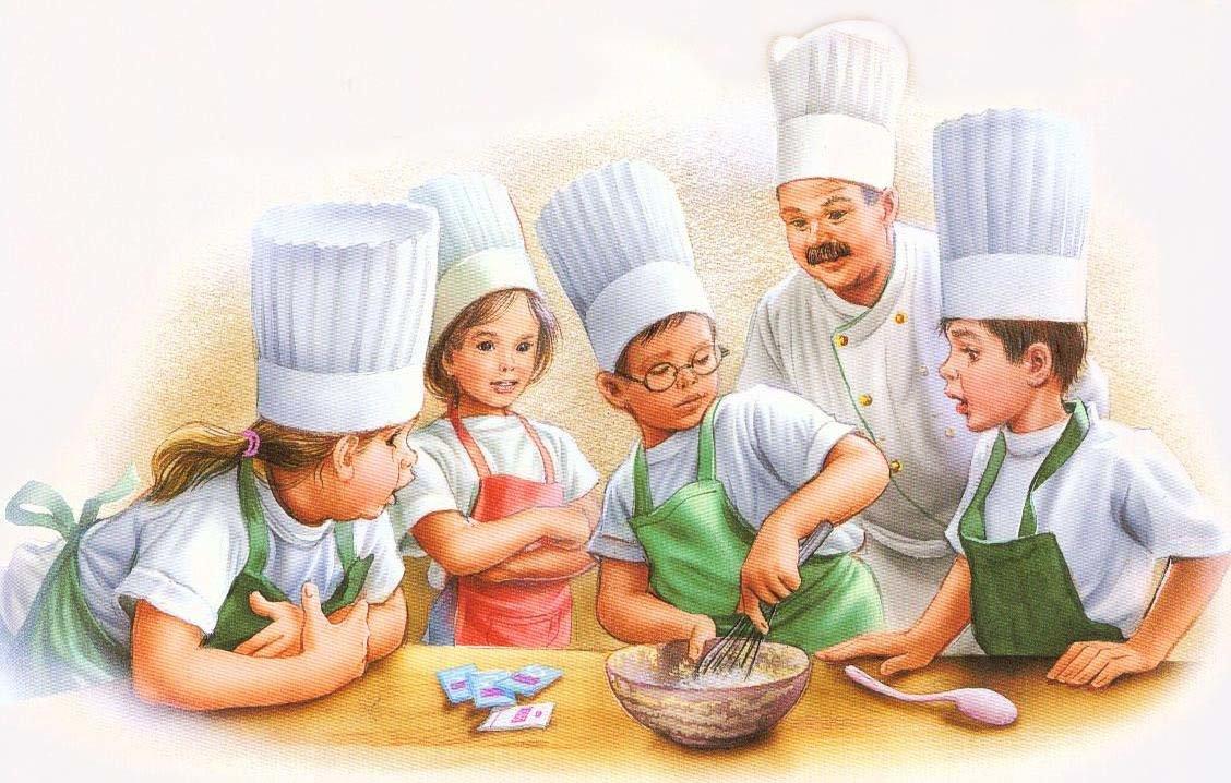 сделать картинки на тему кулинария веселые лично