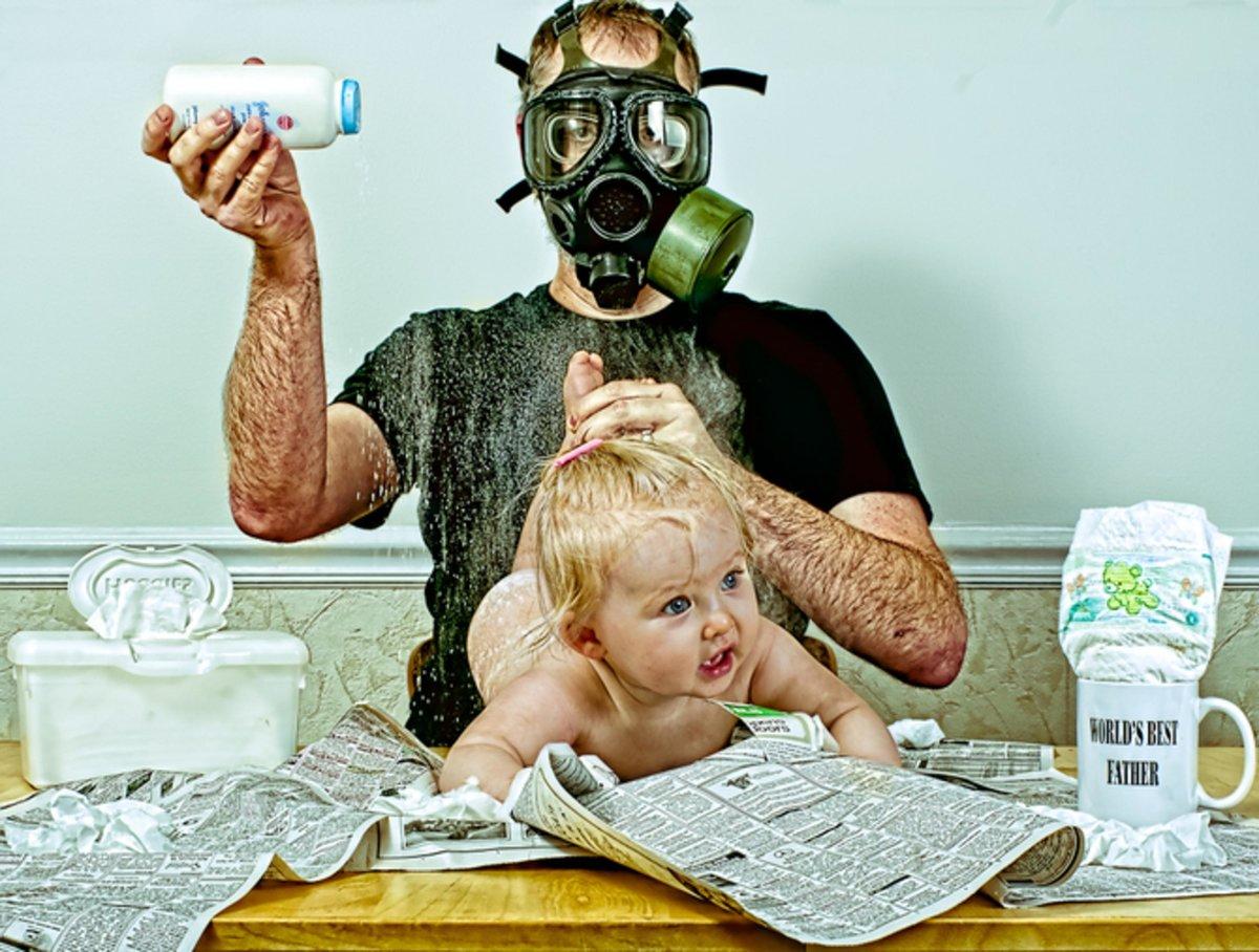 Смешные картинки дети и отцы, двух листов открытки