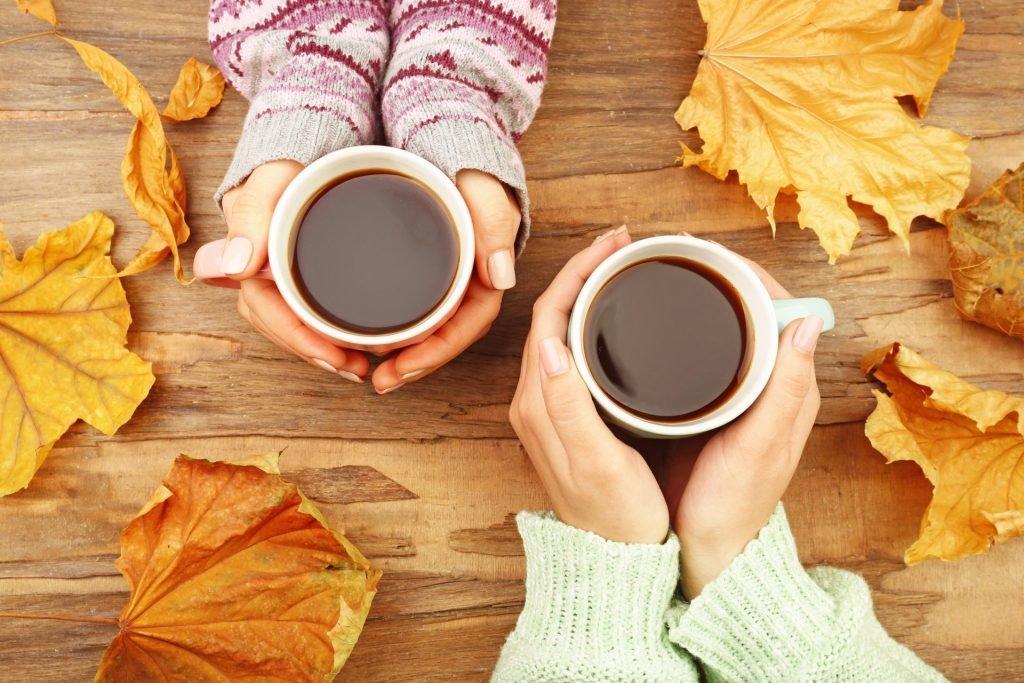 включить просматривать картинки осенний кофе для двоих этом очерке путь