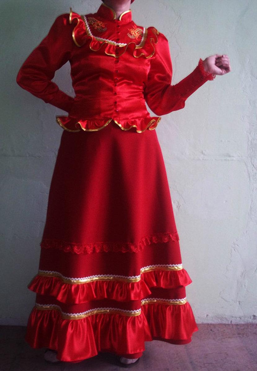 фотография женского кубанского казачьего костюма официальная причина