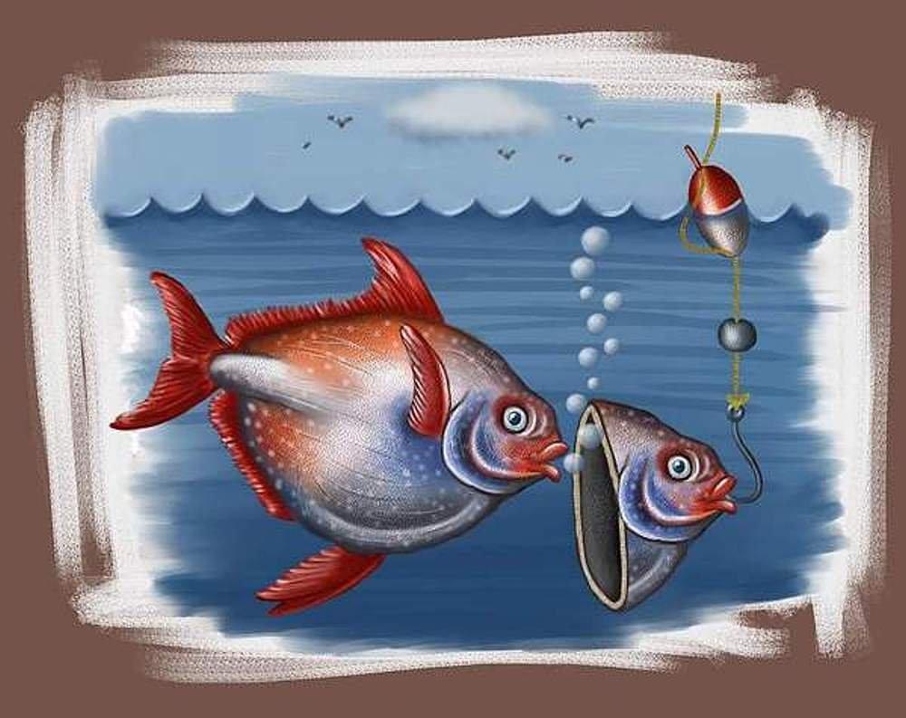Картинки рыб приколы, картинки про