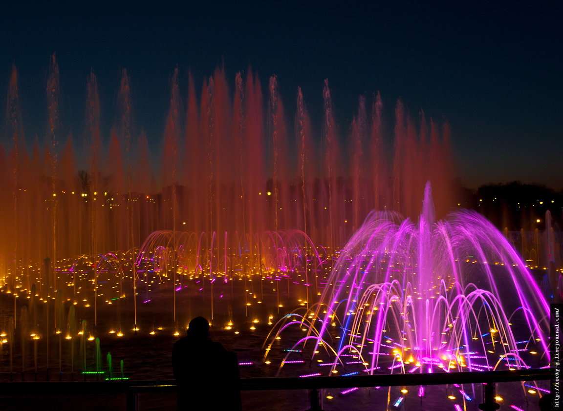 Самые популярные фонтаны