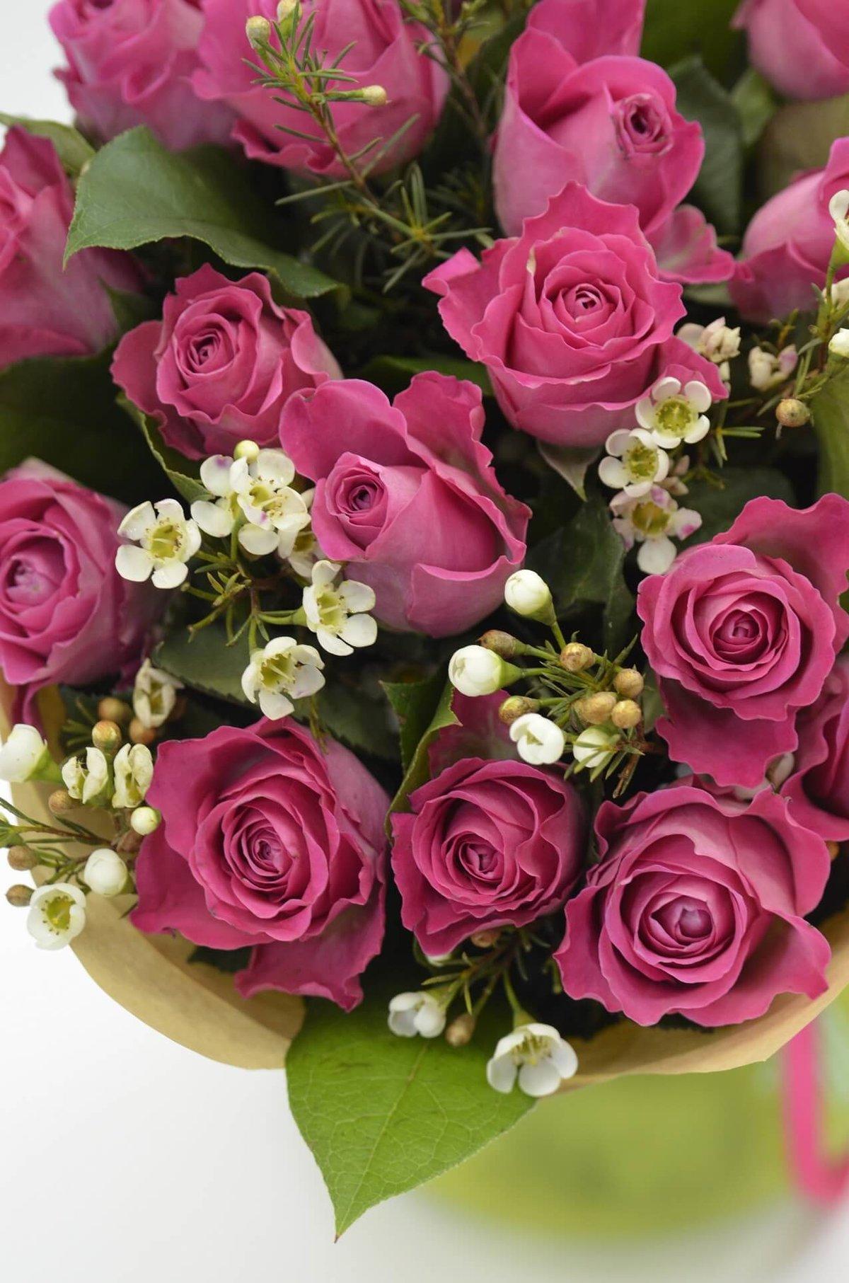 Открытка фото с цветами