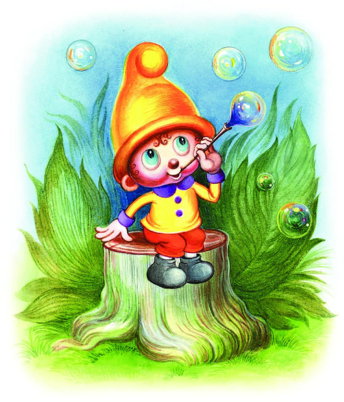 сказочные персонажи леса картинки очень