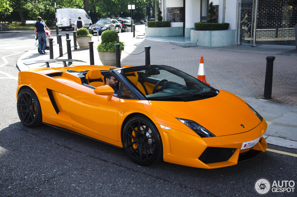 2019 Lamborghini Gallardo Lp560 4 Spyder Car Photos Catalog Card