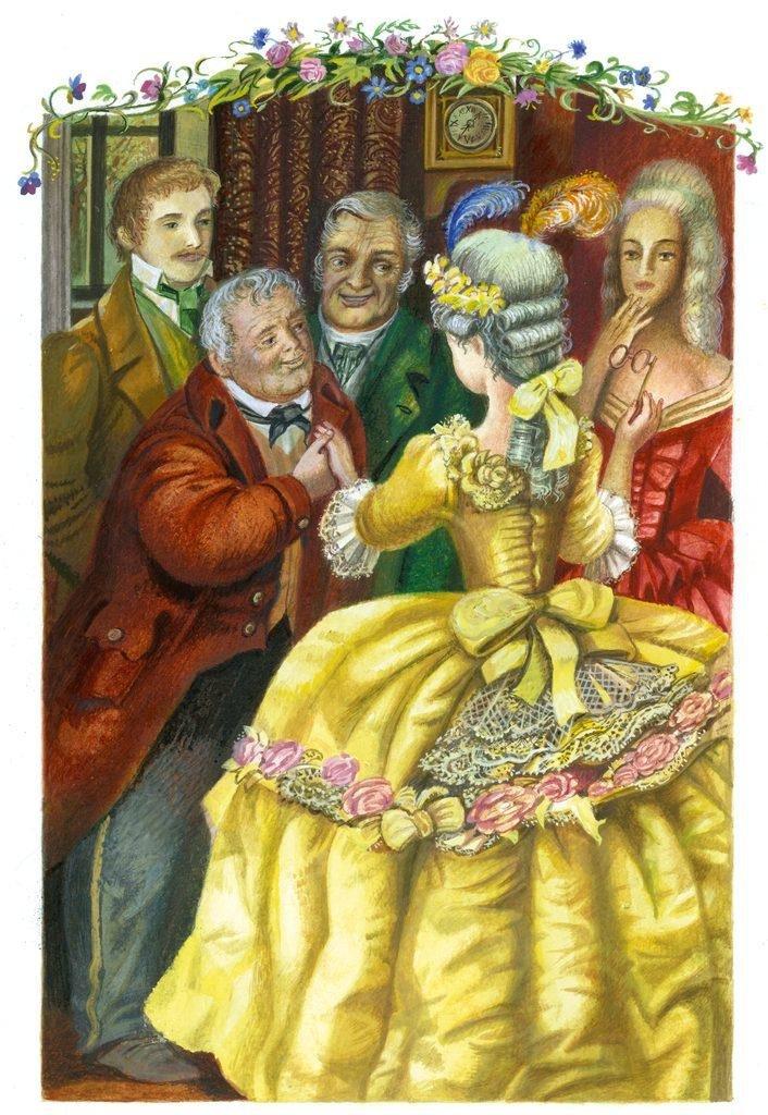 Картинки барышни крестьянки пушкин