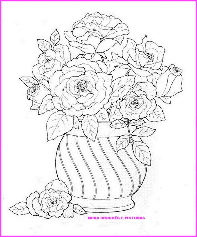 Раскраска с днем рождения цветы