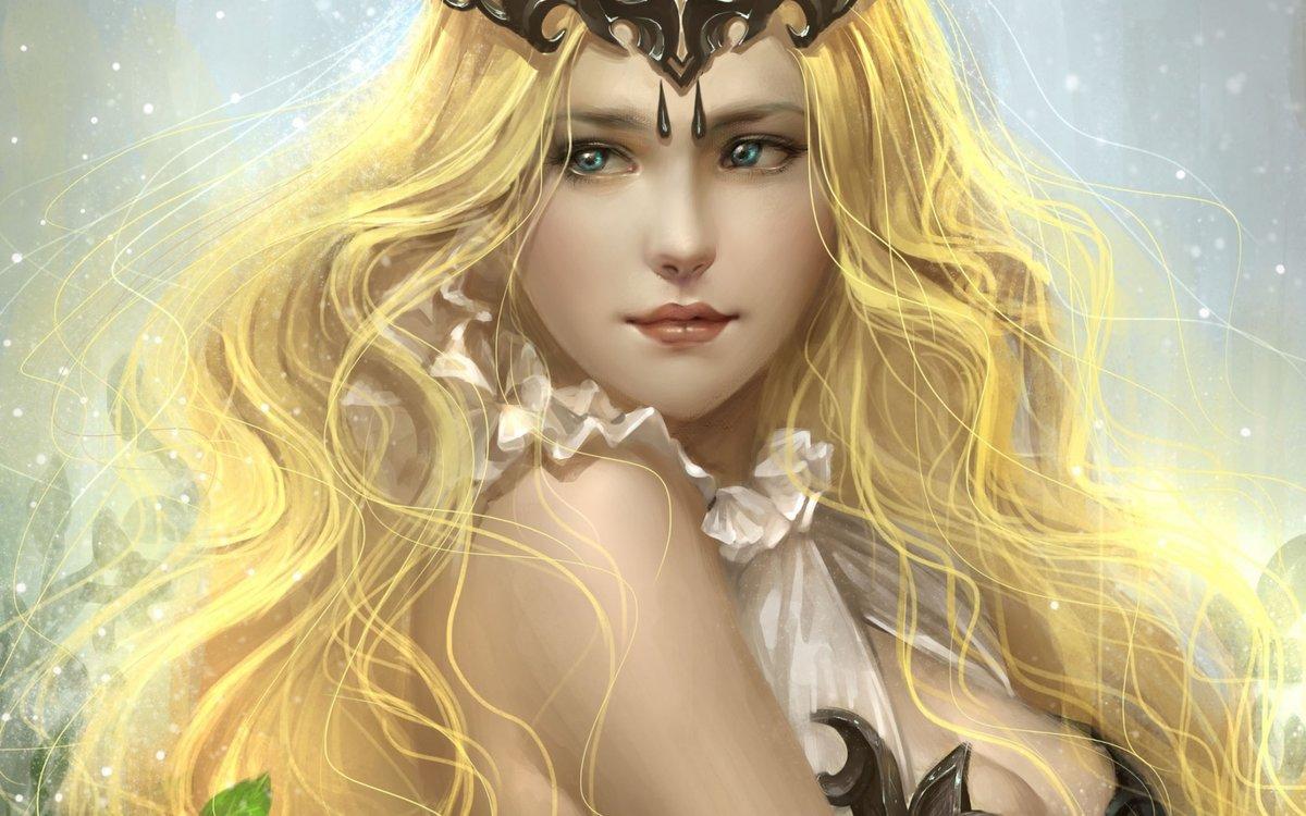 Девушка с светлыми волосами до плеч