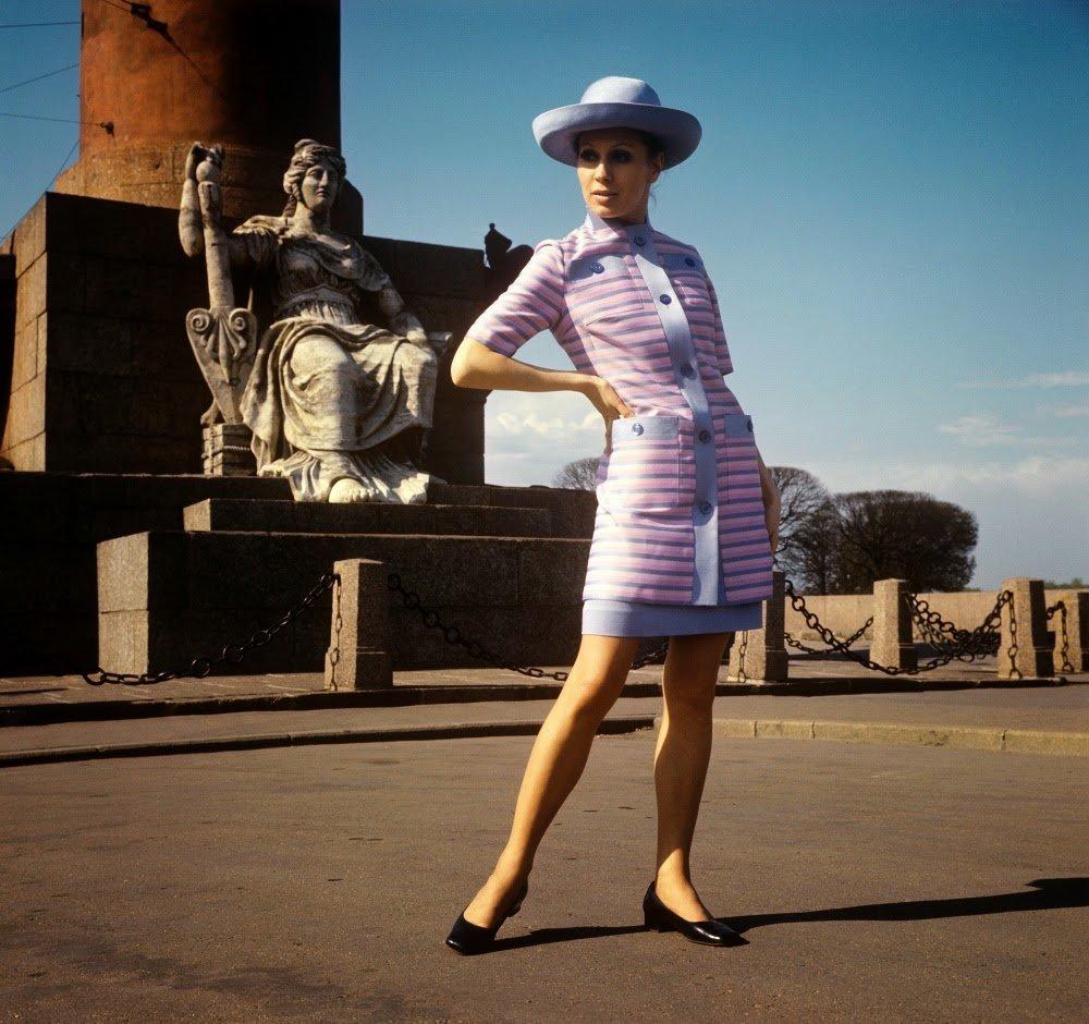 Мамы ребенком, мода ссср 60-х картинки