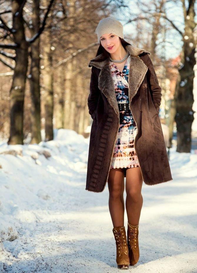 Одежде в ножки видео зимней женщин фото