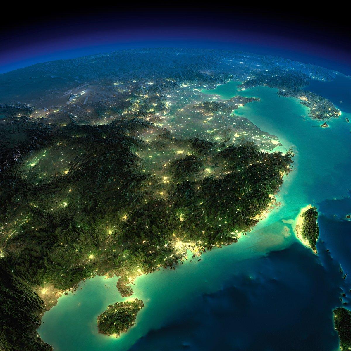 Вид с космоса на землю фото
