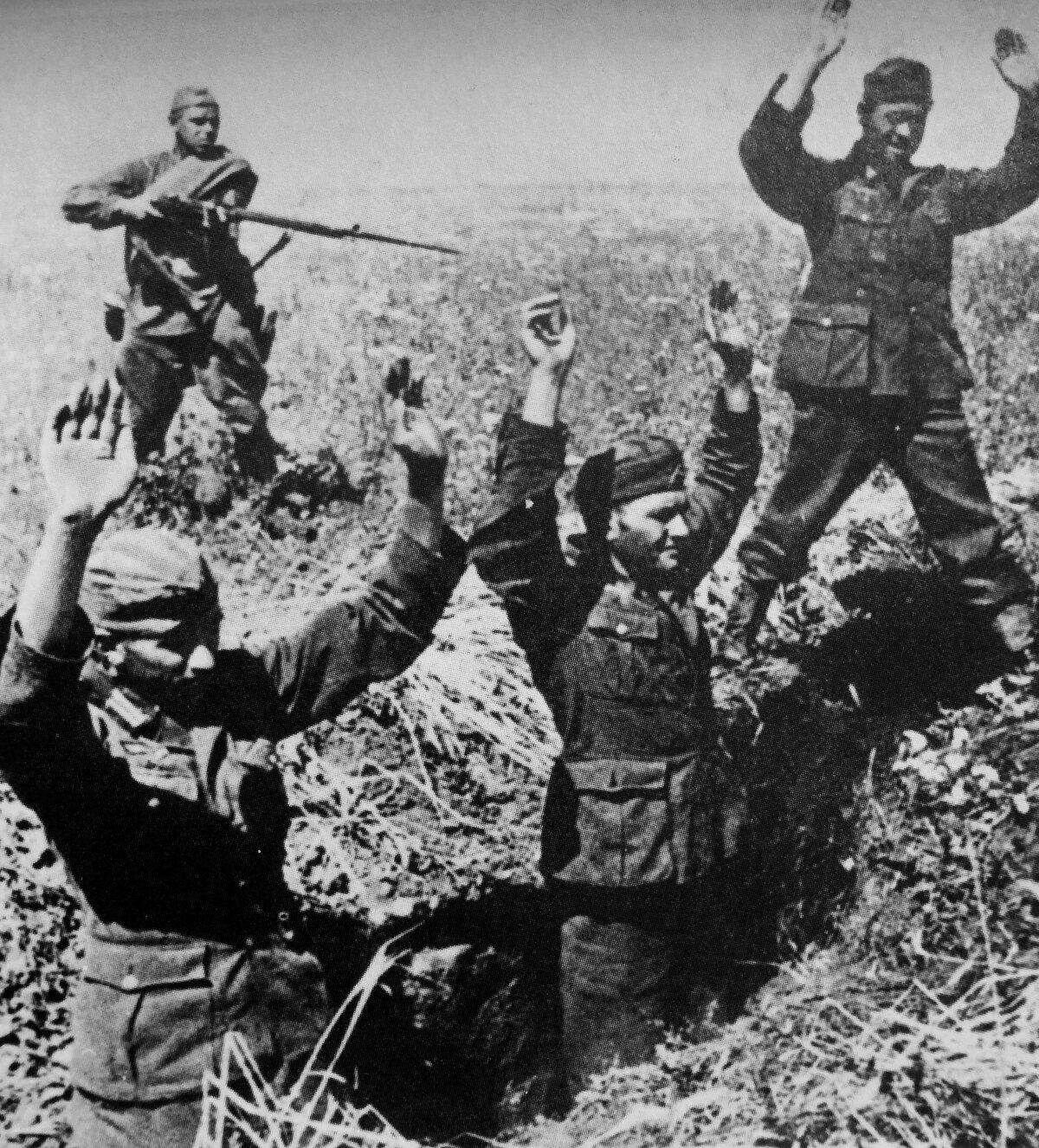«Красная звезда», 7 августа 1942 года, немецкие военнопленные, немцы в плену, немцы в советском плену, немецкий солдат, лагерь военнопленных
