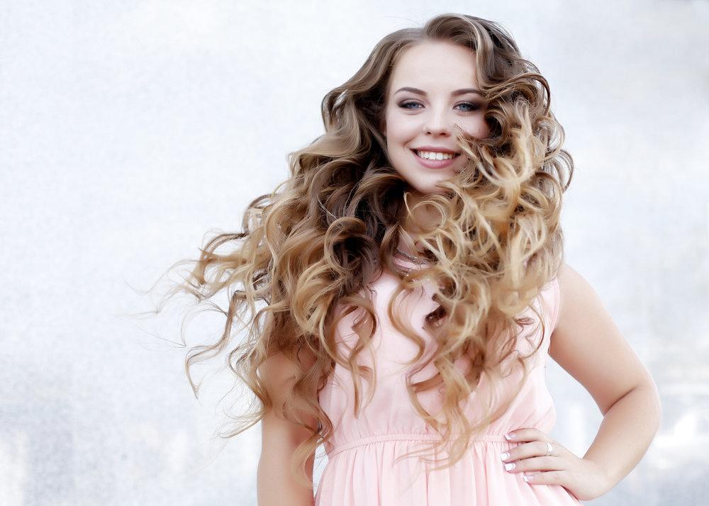 Картинка локоны волос