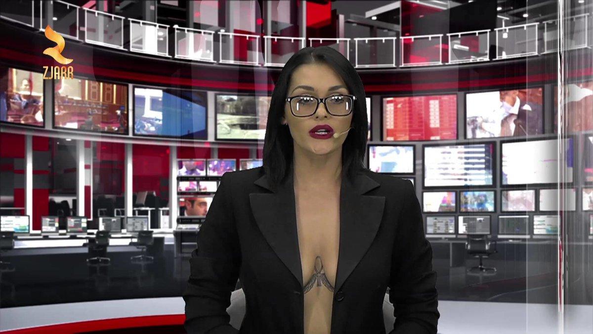 голые телеведущие в передачах видео - 4