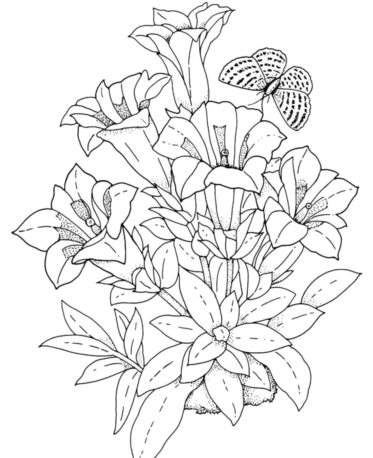 Открытки год, распечатать картинки с цветами красивые