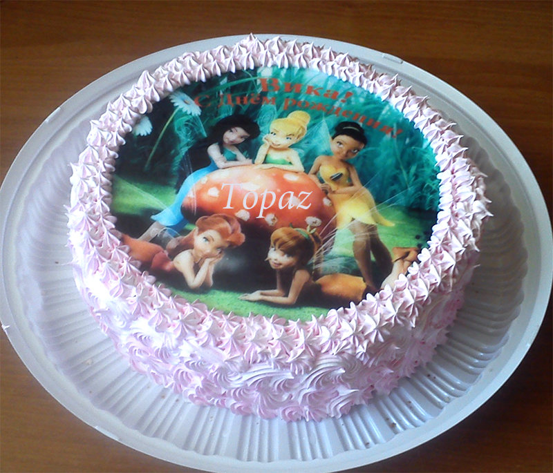Чем покрыть сахарную картинку для торта, анимация днем рождением