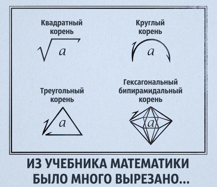 Прикольные картинки геометрия
