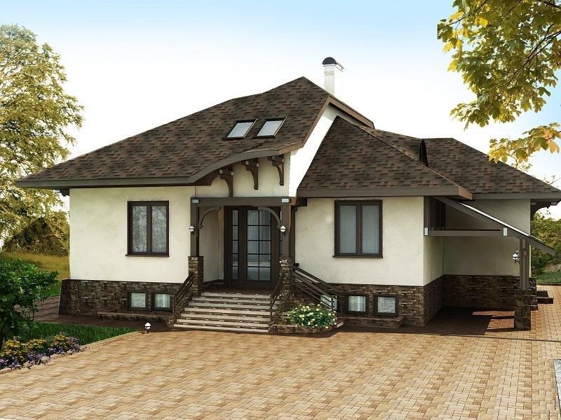 необходимо определить фасад частного дома фотогалерея материалы данном сайте