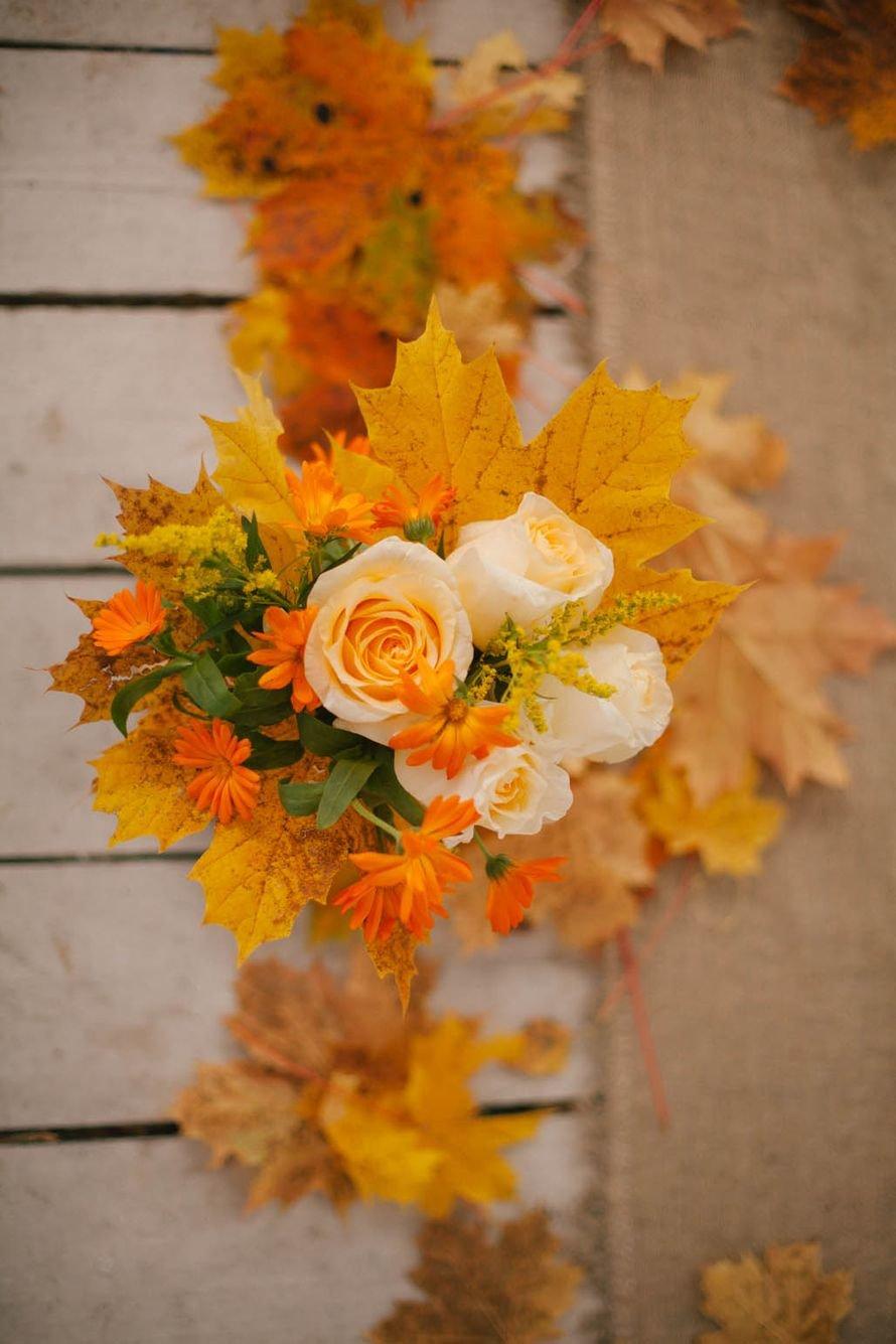 букеты с осенними листьями картинки заслуженной