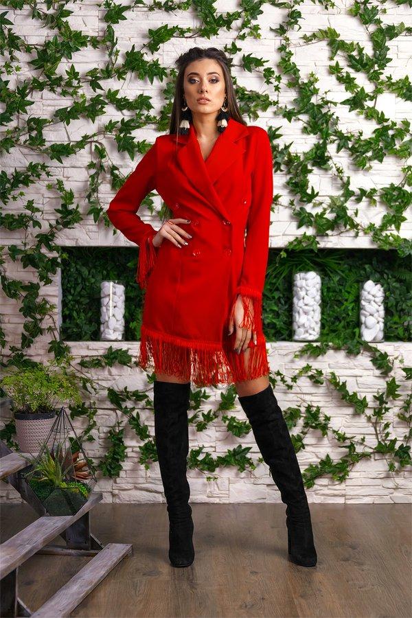 a20c637d327d6 39 карточек в коллекции «Женский весенний образ в красном платье ...