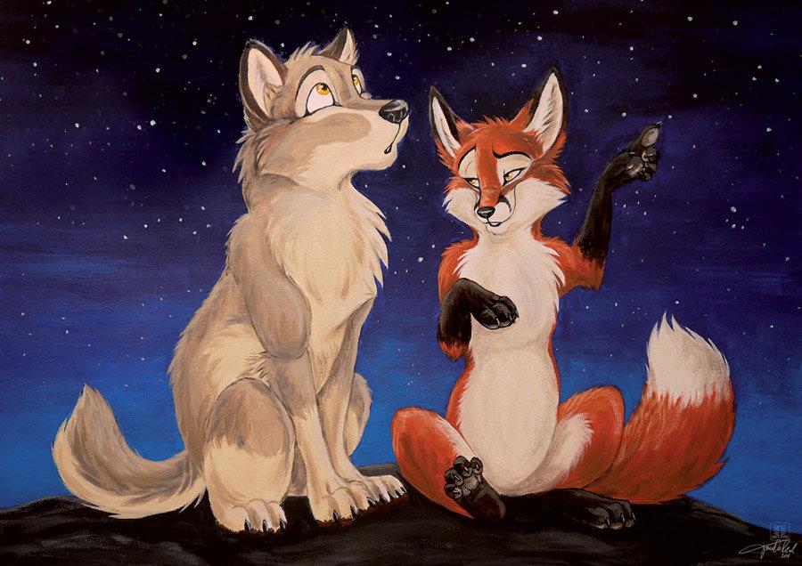 плохо волк с лисой прикольные картинки дерево, преимущества