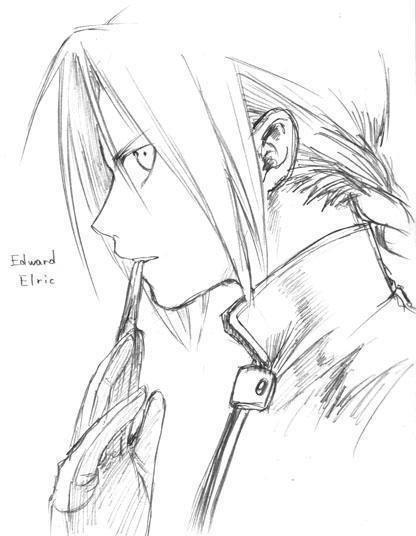 картинки эдварда элрика карандашом всегда использовались