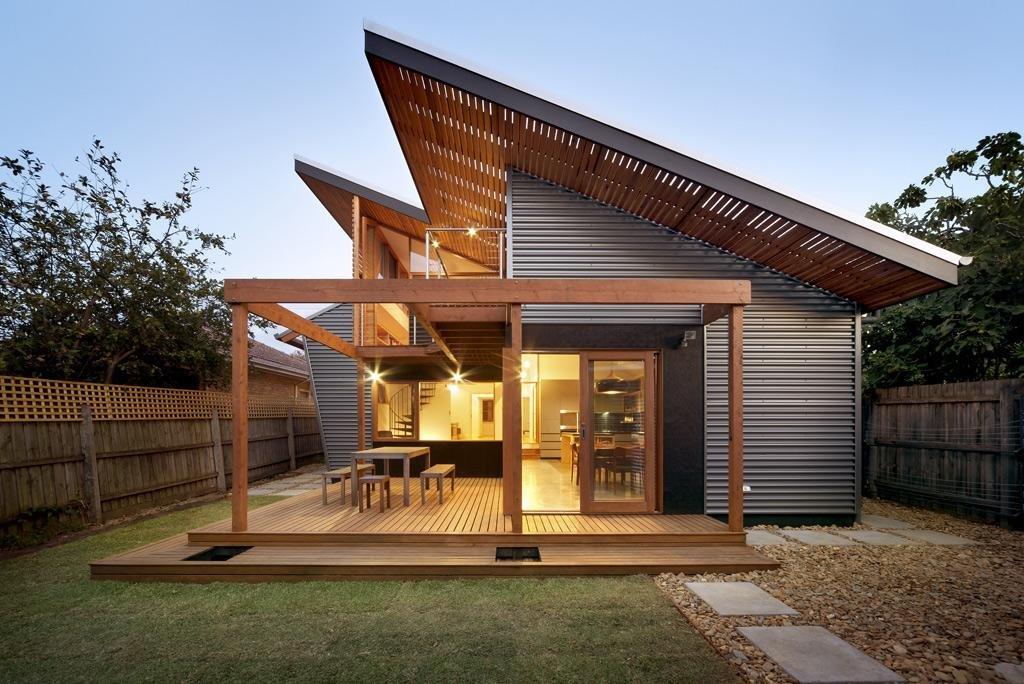 проект односкатных домов