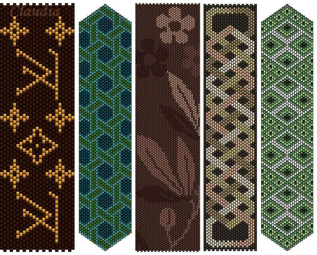 такого количества картинки мозаичным плетением представить
