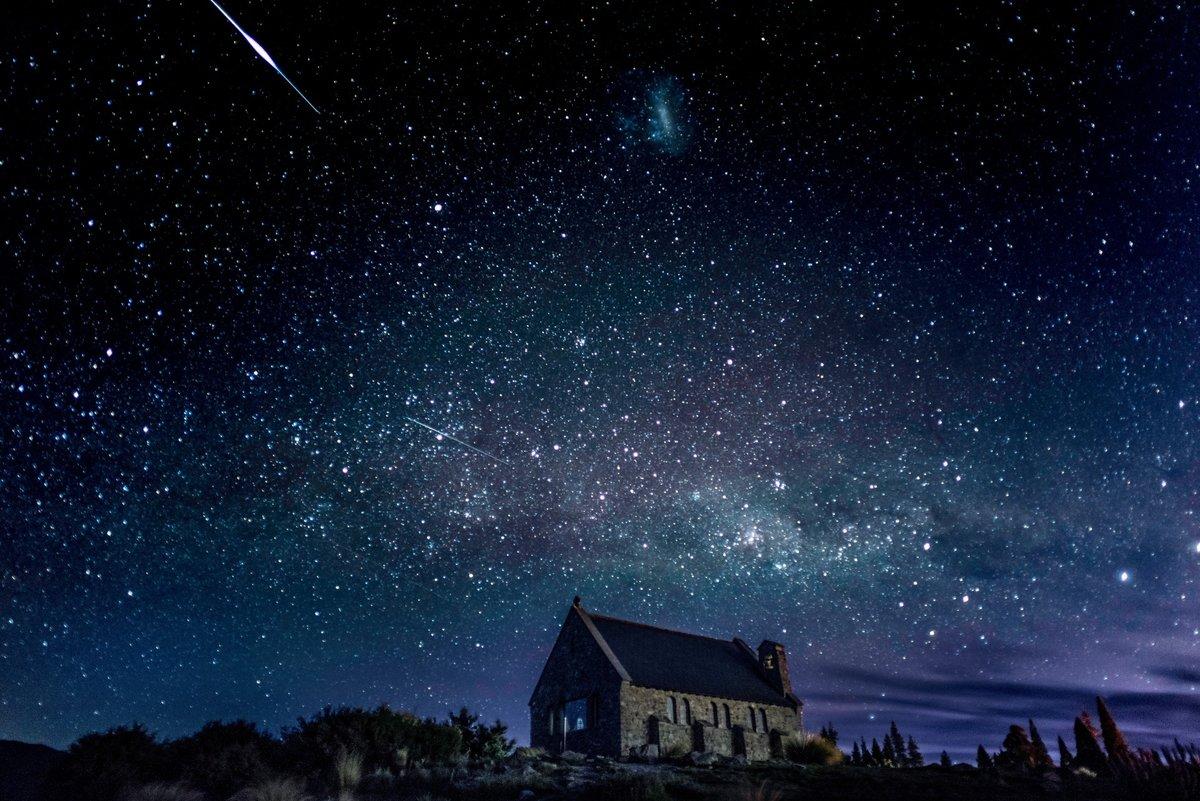 Картинки темная ночь звездное небо, открытка