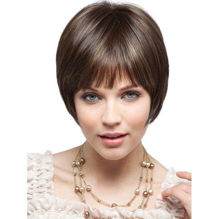 Прически на короткие волосы с челкой картинки