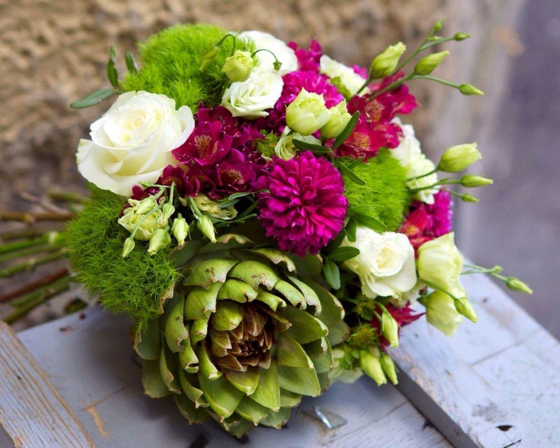 Букеты из необычных цветов купить, купить интернет