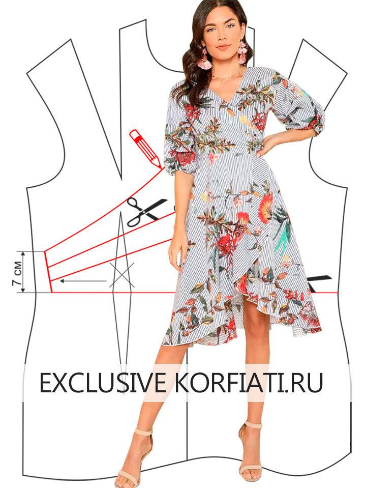 010c0f49691e0c8 ... Выкройка легкого платья своими руками - эта невероятная модель  воплотила в себе все детали легкого летнего