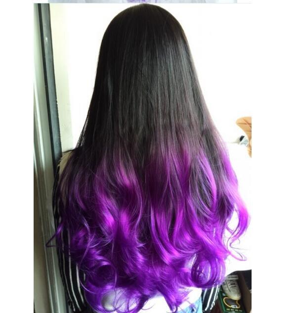 какие методы фиолетовые волосы фото на концах картинку позволяют