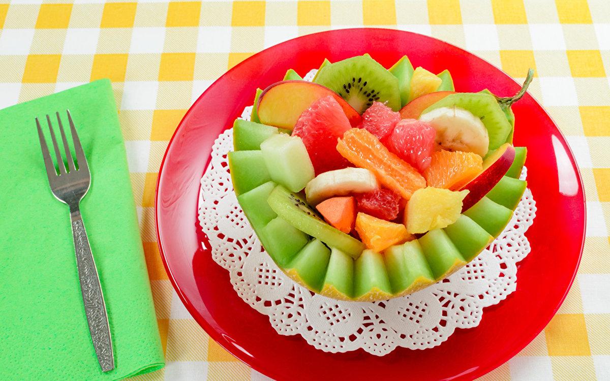 Картинки еда фруктовый салат