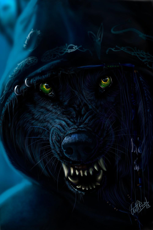 Крутые картинки волками
