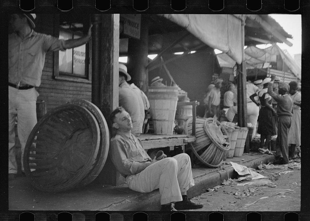 Фото америки в период великой депрессии