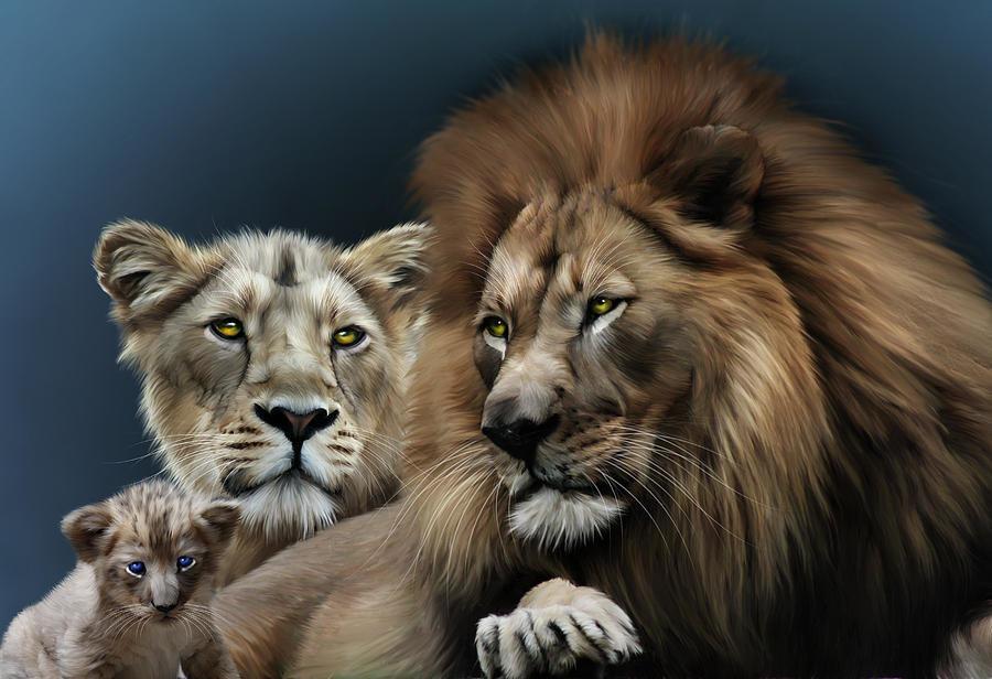 позволяет картинки про львов семейство львов несколько минут