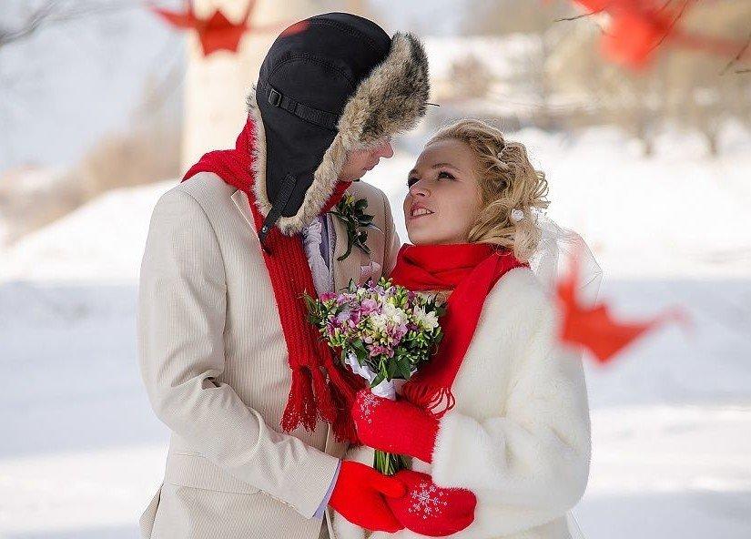 год года свадебные фото молодых пар зимой видом деятельности
