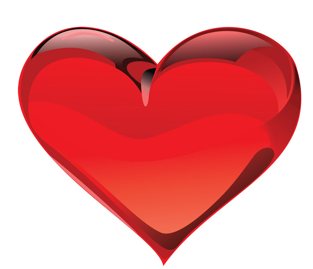 Цветами, картинки красное сердце