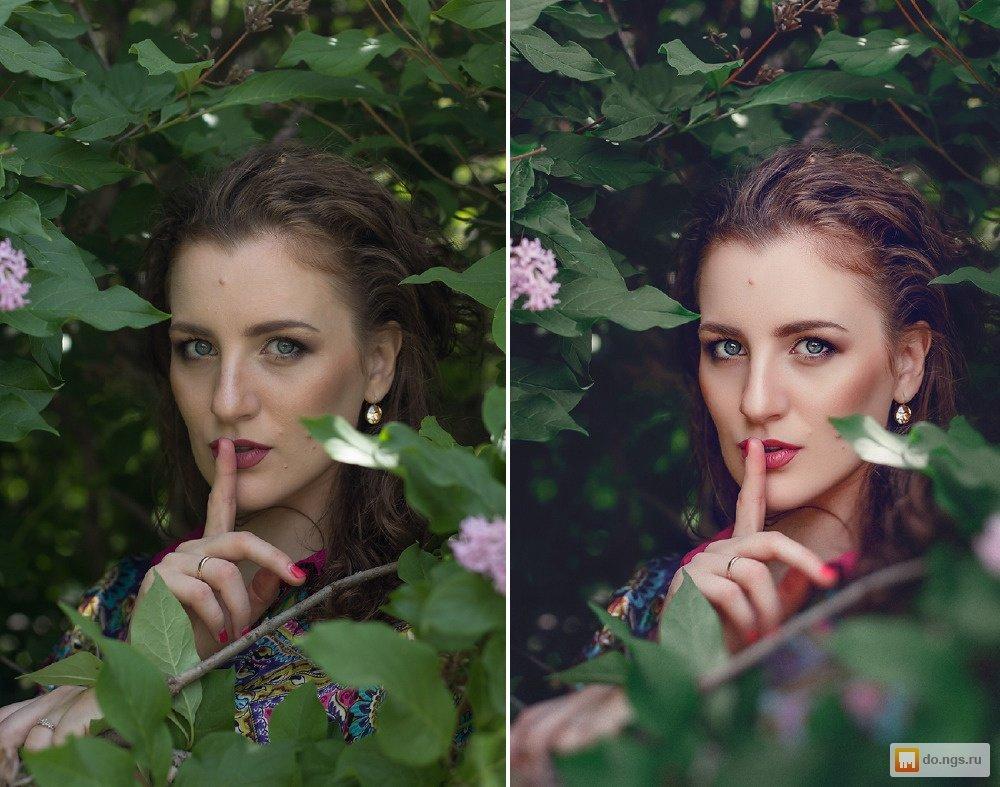 как обработать портрет в фотошопе красиво - 10