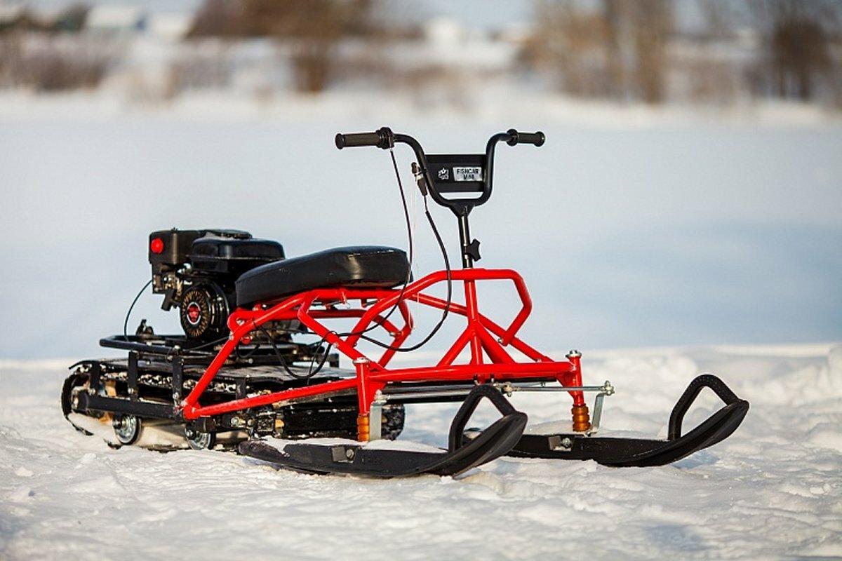 Мини-снегоход «Вьюга» МБГ-2