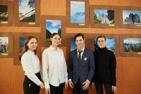 Открытие международной фотовыставки в МБУ гимназия №38